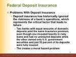 federal deposit insurance14
