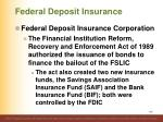 federal deposit insurance2