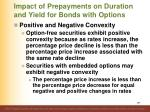 impact of prepayments on duration and yield for bonds with options3