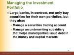 managing the investment portfolio2