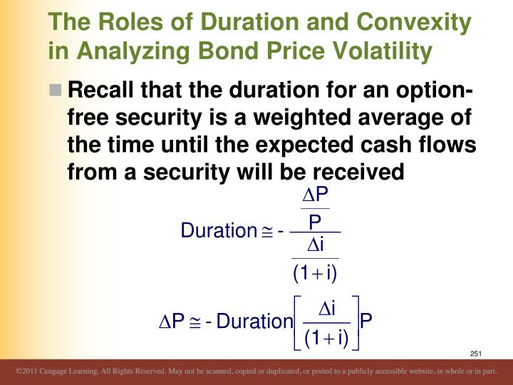 The Roles of Duration and Convexity in Analyzing Bond Price Volatility