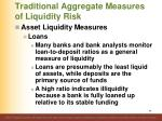 traditional aggregate measures of liquidity risk4