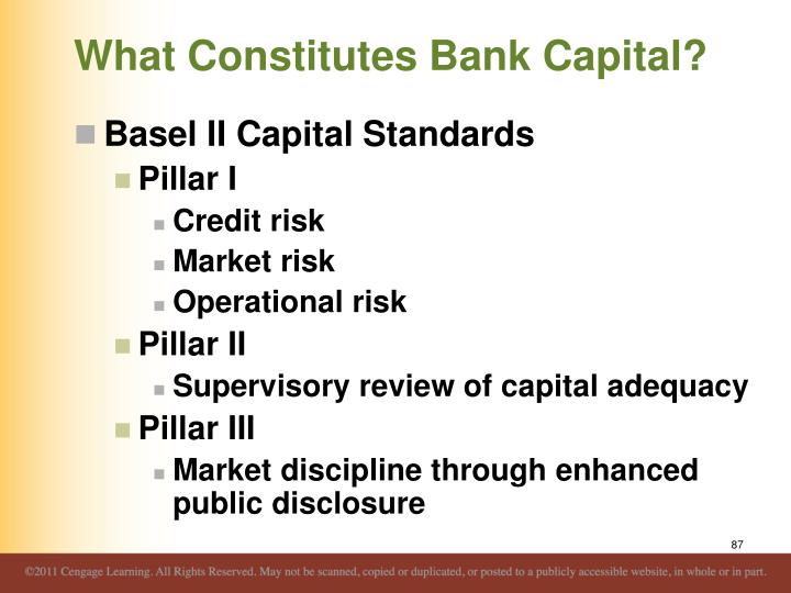 What Constitutes Bank Capital?