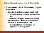 what constitutes bank capital11