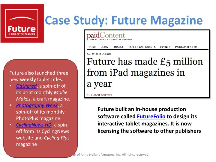 Case Study: Future Magazine