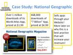 case study national geographic