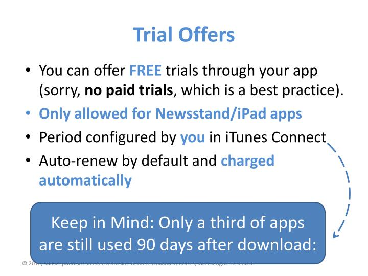 Trial Offers