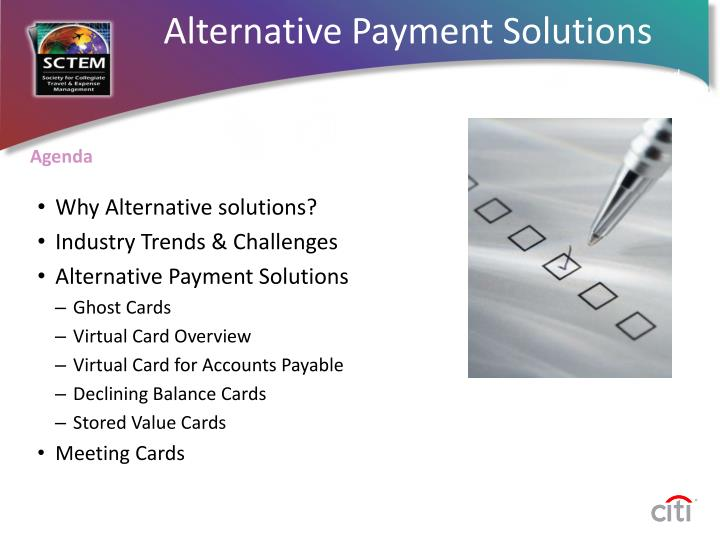 Alternative Payment Solutions