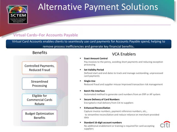 Virtual Cards–For Accounts Payable