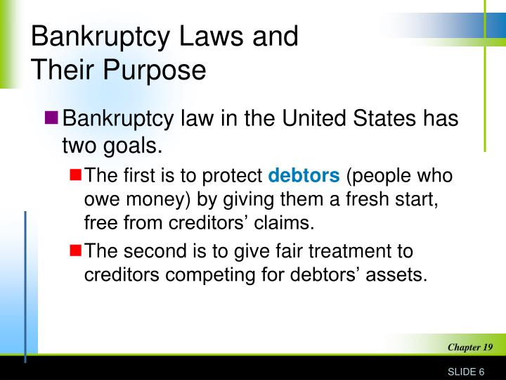 Bankruptcy Laws and