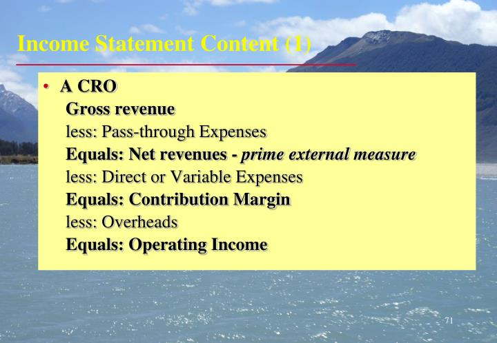 Income Statement Content (1)