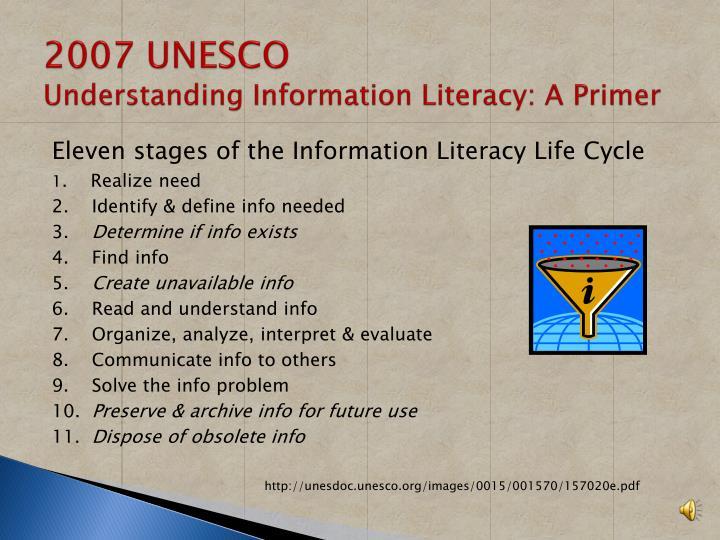 2007 UNESCO
