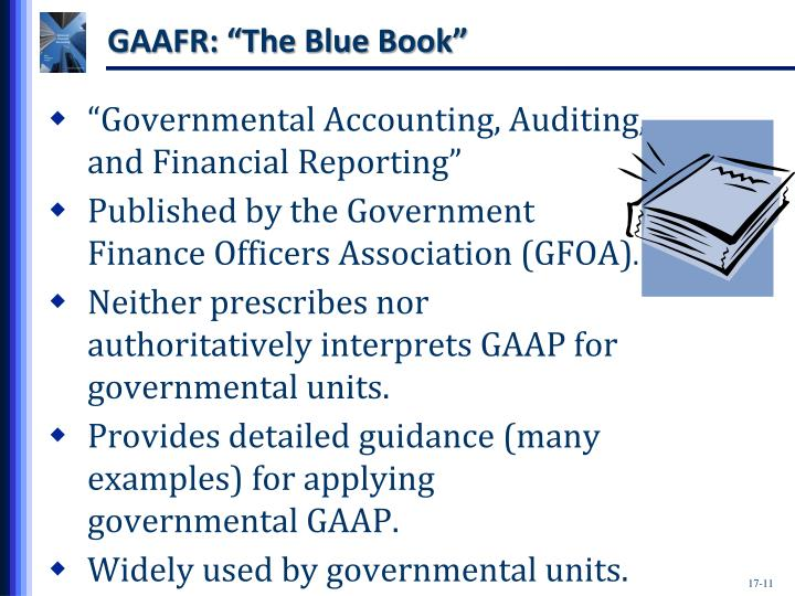"GAAFR: ""The Blue Book"""
