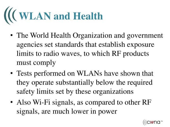 WLAN and Health