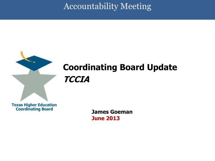Accountability meeting