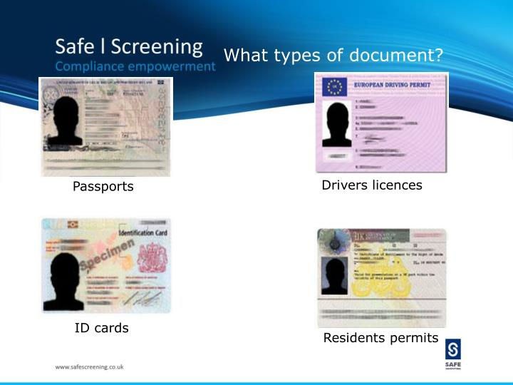 What types of document?