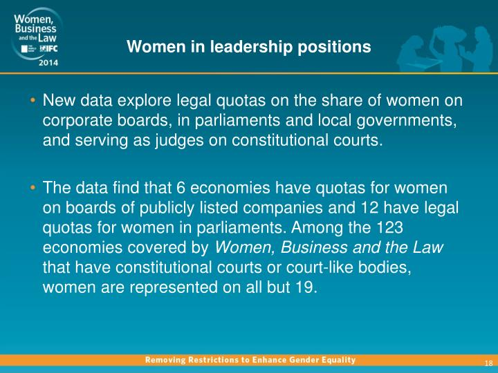Women in leadership positions are a rarity in Germany