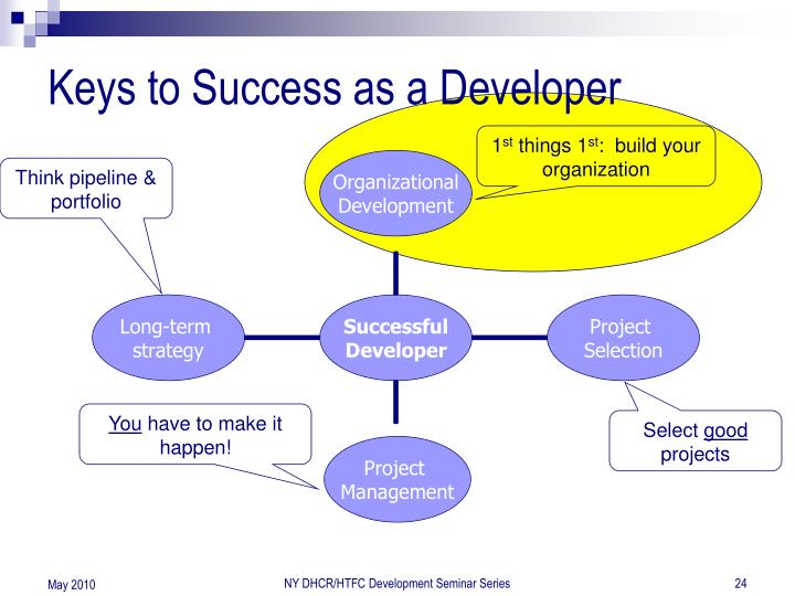 Keys to Success as a Developer