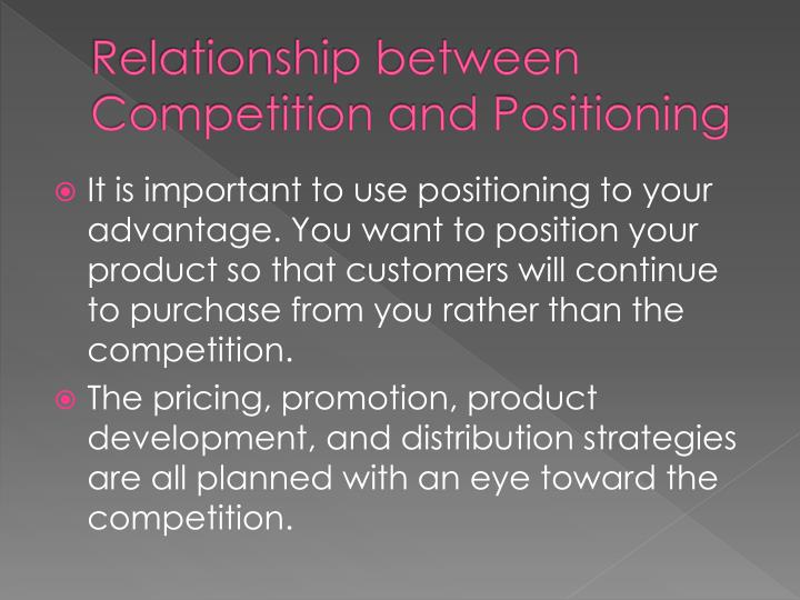 relationship between pricing and competition