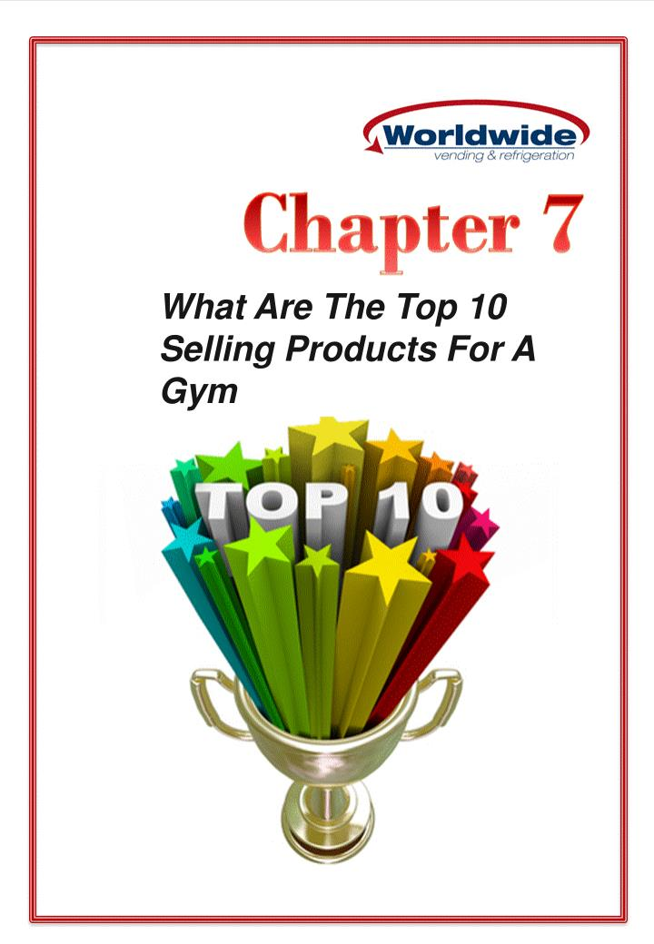 What Are The Top 10 Selling Products For A Gym