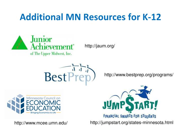 Additional MN Resources for K-12