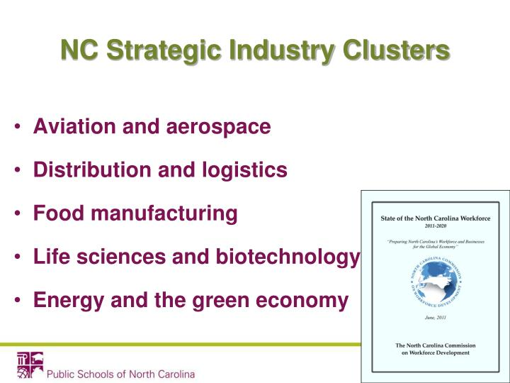 NC Strategic Industry Clusters