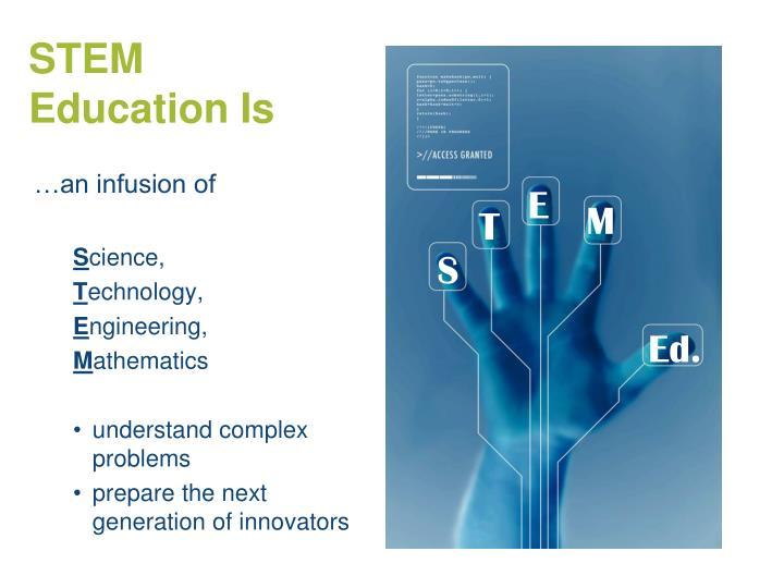 STEM Education Is