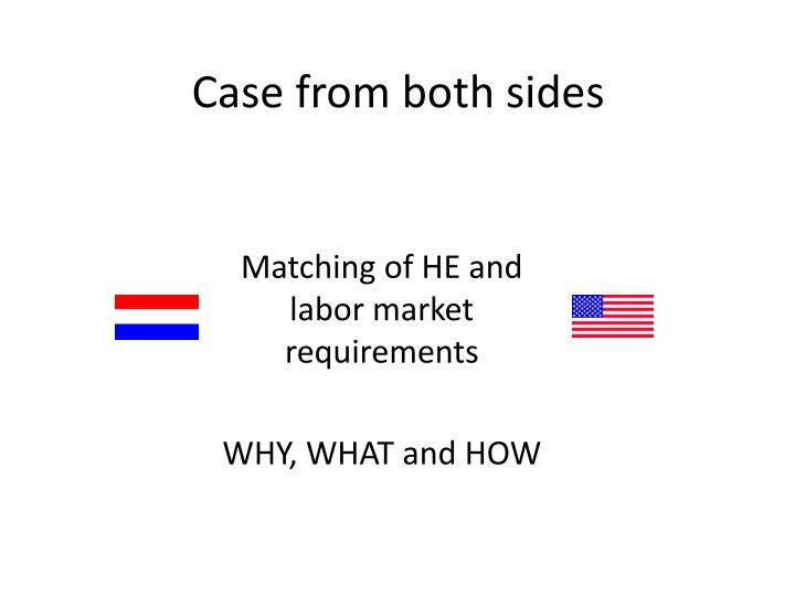 Case from both sides