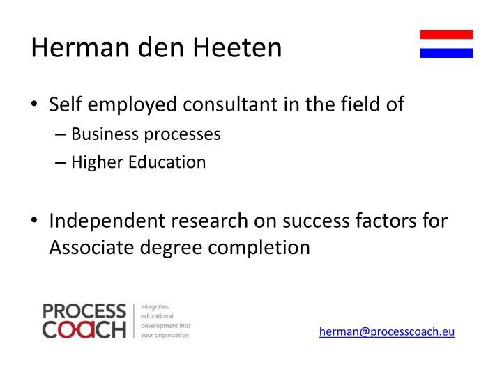 Herman den Heeten