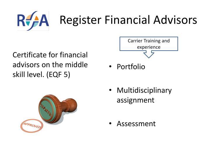 Register Financial Advisors