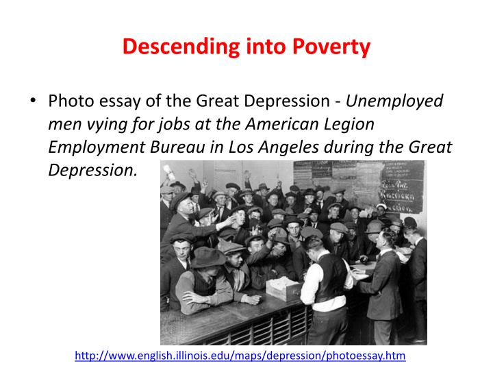 Descending into Poverty