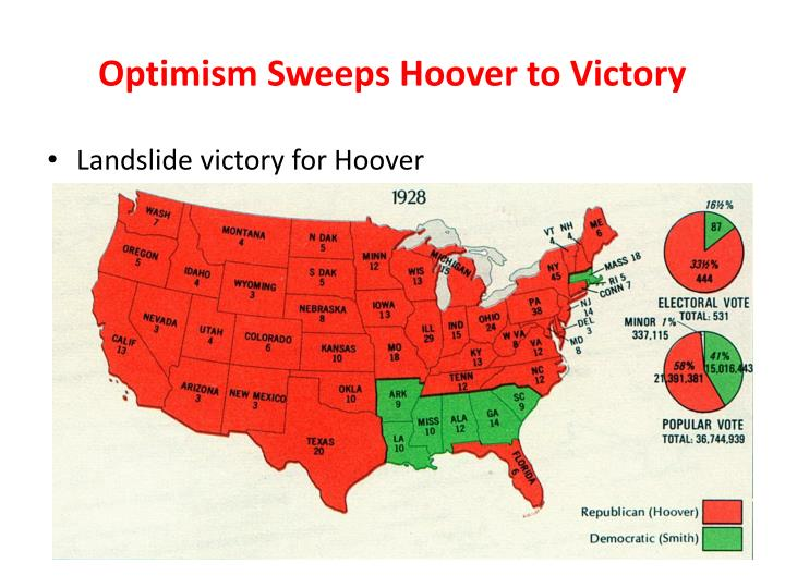 Optimism Sweeps Hoover to Victory