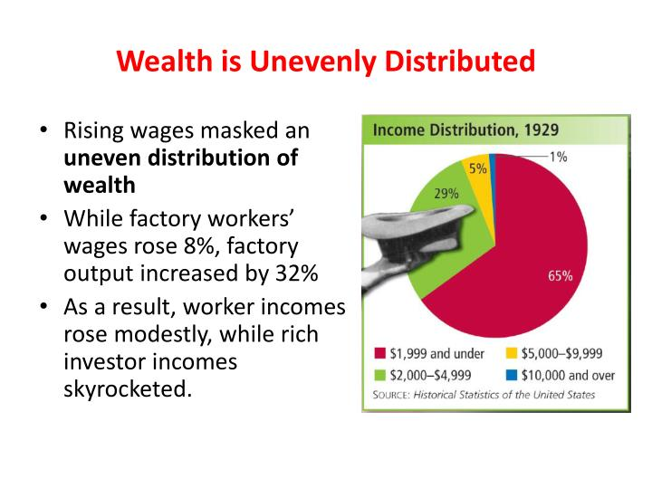 Wealth is Unevenly Distributed