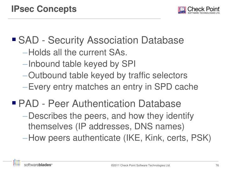 IPsec Concepts