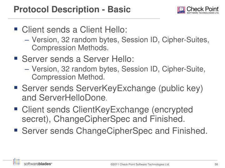 Protocol Description - Basic