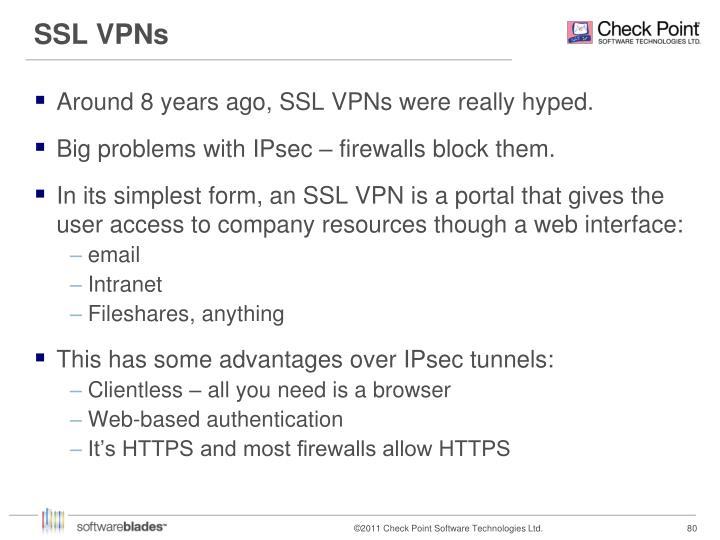 SSL VPNs