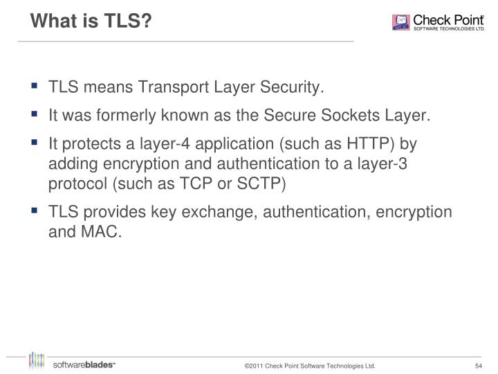 What is TLS?