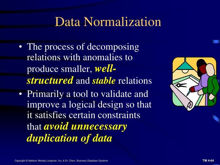 Data Normalization