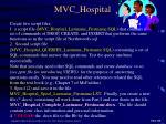 mvc hospital