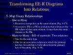 transforming ee r diagrams into relations3