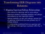 transforming eer diagrams into relations1