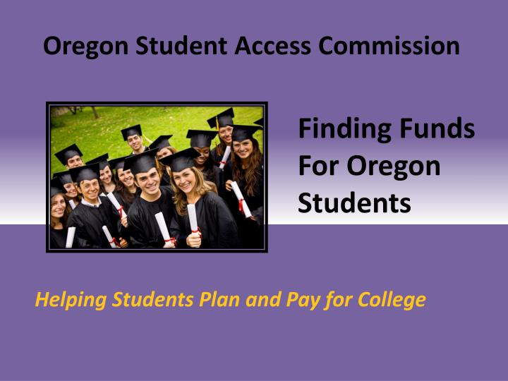 Oregon Student Access Commission
