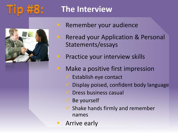 Tip #8: