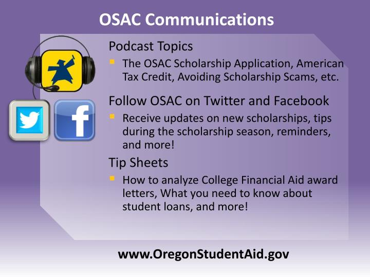 OSAC Communications