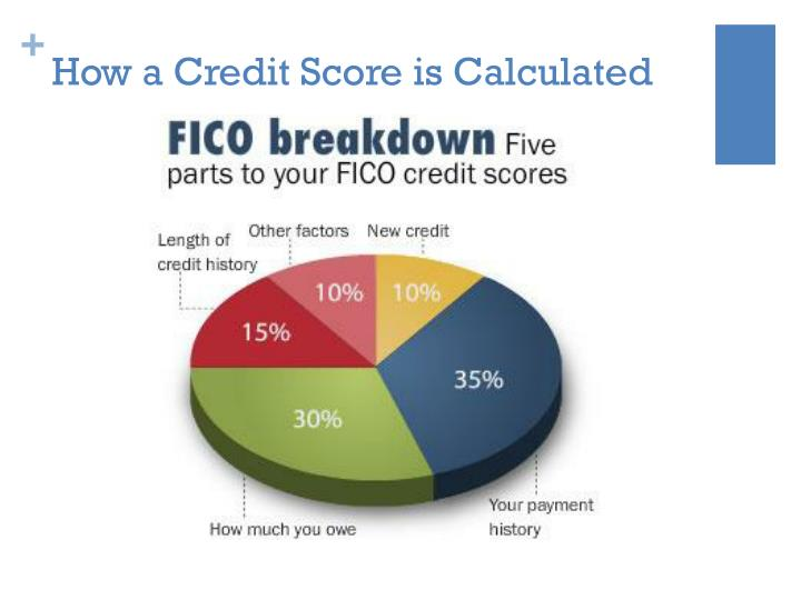 How a Credit Score is Calculated