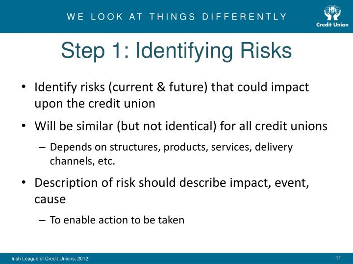 Step 1: Identifying Risks