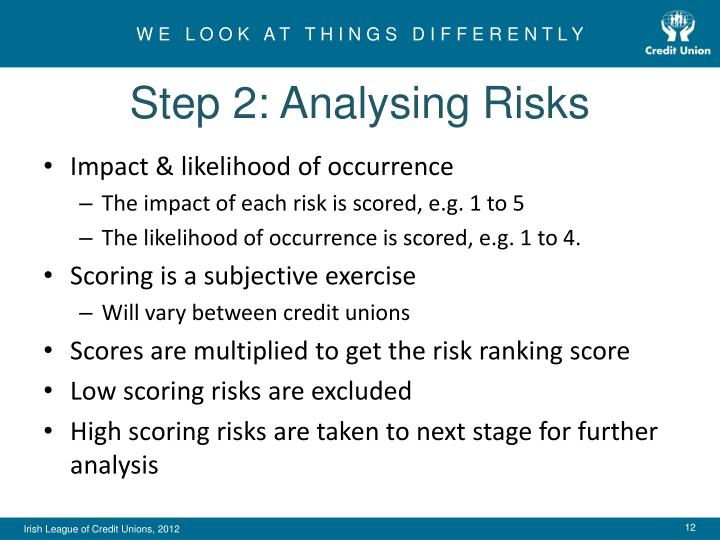 Step 2: Analysing Risks