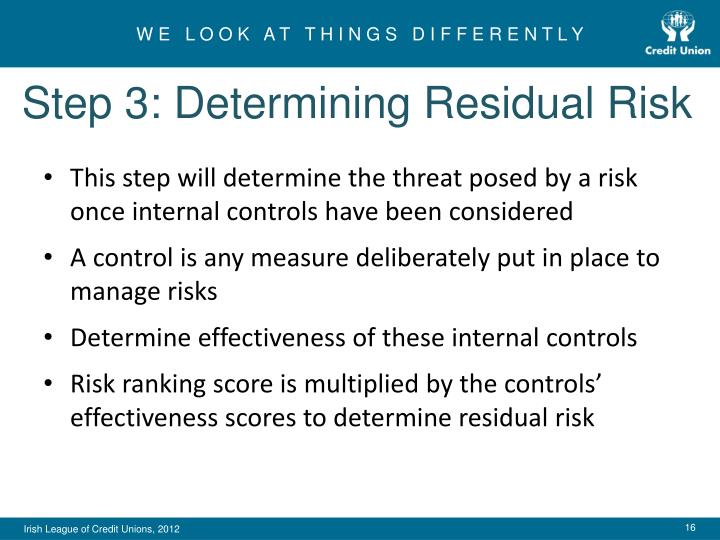 Step 3: Determining Residual Risk