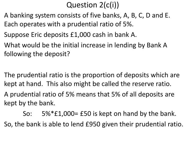 Question 2(c(