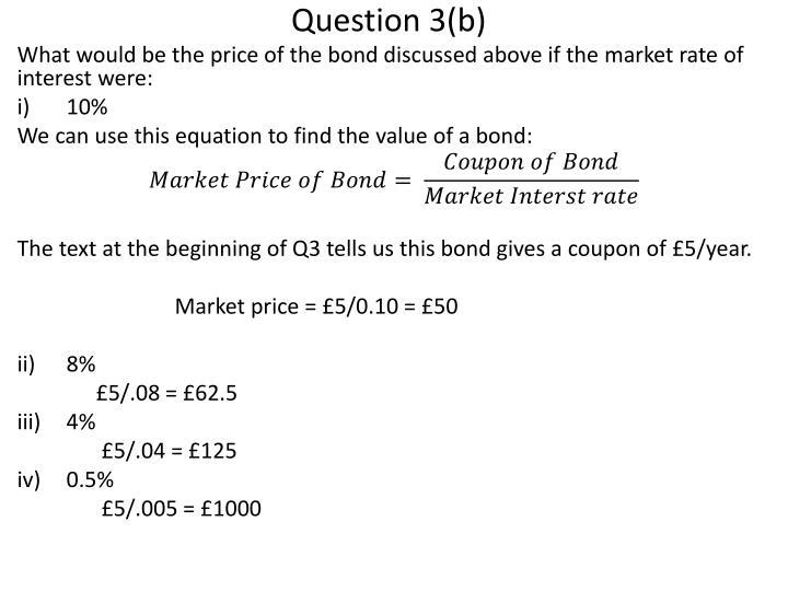 Question 3(b)